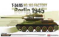 Танк T-34/85 завода №183, Берлин 1945
