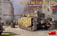 Pz.Kpfw.IV Ausf. G-Last/H-Early Nibelungenwerk Prod. (May-June 1943) 2in1 Interior Kit