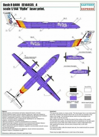 """Dash 8 Q400 """"FlyBe"""" (Limited Edition)"""