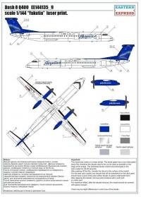 "Dash 8 Q400 ""Yakutia"" (Limited Edition)"
