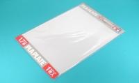 Пластиковый лист (прозрачный) толщиной 1,7мм (1шт.) полистирин 36,4 х 25,7см