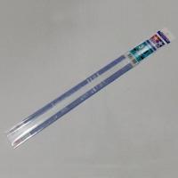 Профили пластиковые (5шт.) U - формы, стороны по 3 мм, толщина стенки 1мм, длина 40см.,полистирин