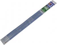 Профили пластиковые (5шт.) H - формы, стороны по 3 мм, толщина стенки 1мм, длина 40см.,полистирин прозрачный