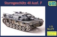 САУ Sturmgeschutz 40 Ausf F