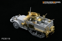 WWII M2 A1 Half Track (For DRAGON 6329)