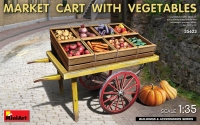 Market Cart with Vegetables