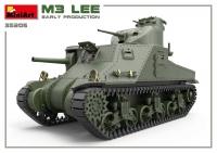 Британский танк Мк.III Lee с интерьером