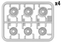 Комплект катков танков М3/М4 (сварные и прессованные)