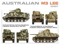 Австралийский танк M3 Lee с интерьером