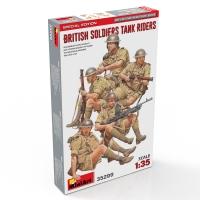 Британская пехота на танке