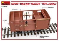 "Советский железнодорожный вагон ""Теплушка"""