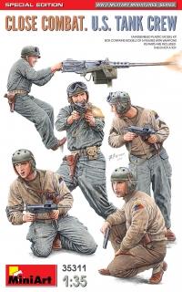 Ближний бой. Американский танковый экипаж