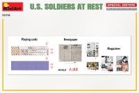Американские солдаты на отдыхе