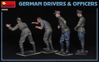 Немецкие водители и офицеры