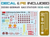 Немецкая заправочная станция 1930-40-х гг.
