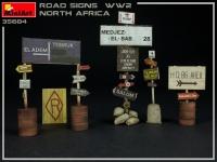Дорожные знаки WWII (Северная Африка)