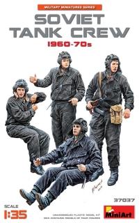 Советский танковый экипаж, 1960-70 гг.