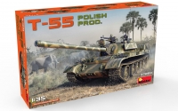 Танк Т-55 польского производства