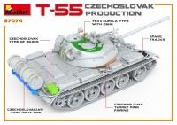 Танк Т-55 чехословацкого производства