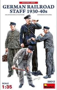 Немецкий железнодорожный персонал 1930-40-хх годов