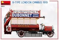 Лондонский омнибус B-TYPE, 1919 г.
