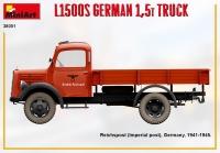 Немецкий 1,5т грузовик L1500S