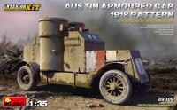 Британский бронеавтомобиль AUSTIN 1918 г., с интерьером. Западный фронт