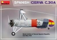 Испанский автожир CIERVA C.30A