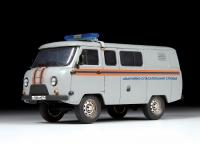 "УАЗ-3909 ""Буханка"". Аварийно-спасательная служба"