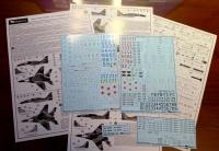 Декаль для самолёта разработки ОКБ Микояна 29СМТ