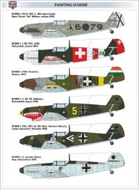 Самолет Bf-109D1