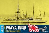 """Канонерская лодка IJN """"Maya"""", 1888 г."""