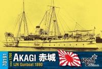 "Канонерская лодка IJN ""Akagi"", 1890 г."