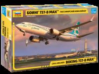 "Пассажирский авиалайнер ""Боинг 737-8 MAX"""