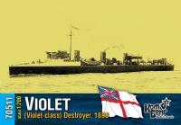 Английский миноносец «Violet» (Violet-class), 1898 г.