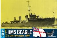 "Английский миноносец HMS ""Beagle"" (G-Class), 1909 г."