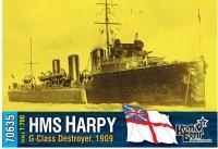 """Английский миноносец HMS """"Harpy"""" (G-Class), 1909 г."""
