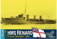 "Английский миноносец HMS ""Renard"" (G-Class), 1909 г."