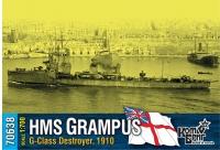 """Английский миноносец HMS """"Grampus"""" (G-Class), 1910 г."""