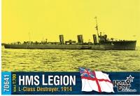 "Английский миноносец HMS ""Legion"" (L-Class), 1914 г."