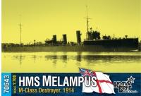 "Английский миноносец HMS ""Melampus"" (M-Class), 1914 г."