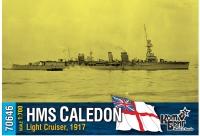 """Легкий крейсер HMS """"Caledon"""", 1917 г."""