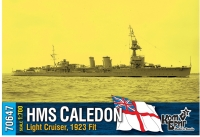"""Легкий крейсер HMS """"Caledon"""", 1923 fit"""