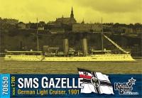 "Германский легкий крейсер SMS ""Gazelle"", 1901 г."