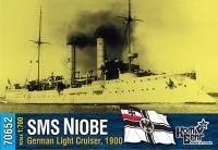 """Германский легкий крейсер SMS """"Niobe"""", 1900 г."""