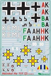 Декаль Хейнкель Не-111 (2)