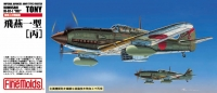 "Самолет IJA Kawasaki Type3 Fighter Ki-61-1 Hei ""Tony"""