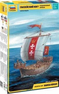 Средневековый корабль Ганзейский Когг