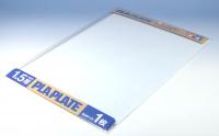 Пластиковый лист (белый матовый) толщиной 1,5мм (1шт.) полистирин 36,4 х 25,7см