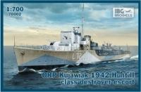 ORP Kujawiak 1942 Hunt II class destroyer escort